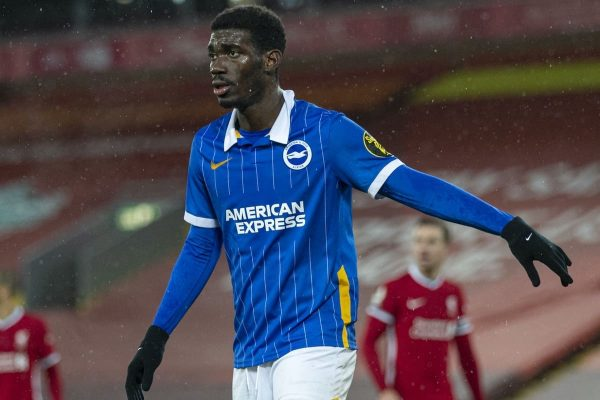 According to the Daily Expressand ufabet , Brighton are asking for a £40m fee from Liverpool for midfielder Yves Bissouma