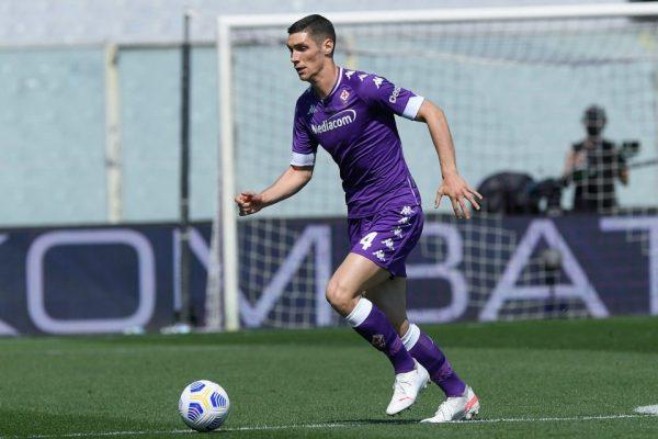 Serbia defender Nikola Milenkovic will continue training with Fiorentina