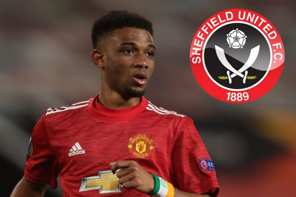 Sheffield United are keen to bring in Manchester United winger Ahmad Diallo